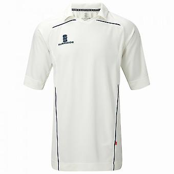 Camicia di Surridge Mens secolo Sport Cricket