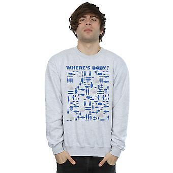 Disney Men's Finding Dory Where's Dory? Sweatshirt