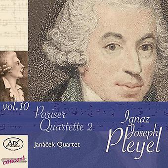 Pleyel / Janacek Quartet - Pariser Quartette 2 [CD] USA import
