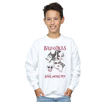 Disney Boys Bad Girls Have More Fun Sweatshirt