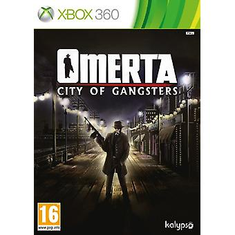 Omerta - City of Gangsters (Xbox 360) - Nouveau