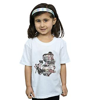 Disney Princess Belle de meninas felicidade t-shirt