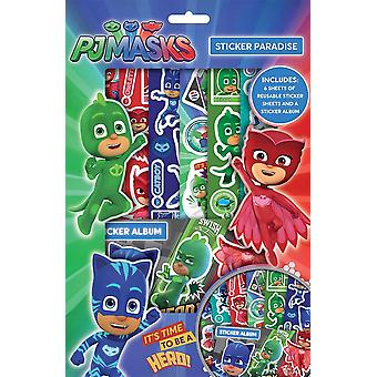 "PJ Masks Boys ""Its Time to Be A Hero"" Sticker Paradise"
