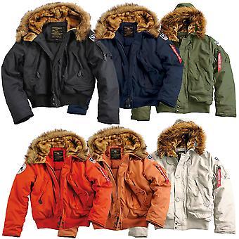 Alpha industries winter jacket mens polar SV