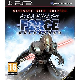 Star Wars The Force Unleashed - The Ultimate Sith Edition (PS3) - Factory Sealed
