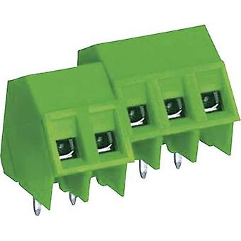 DECA MB322-762M02 Screw terminal 2.50 mm² Number of pins 2 Green 1 pc(s)