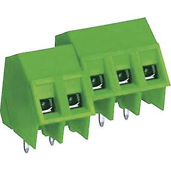 DECA MB322 - 762M 02 skruv terminal 2.50 mm² antal pins 2 Green 1 dator