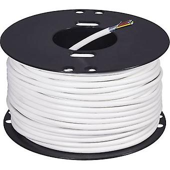 ABUS AZ6360 Alarm wire LiFY 8 x 0.22 mm² White 50 m