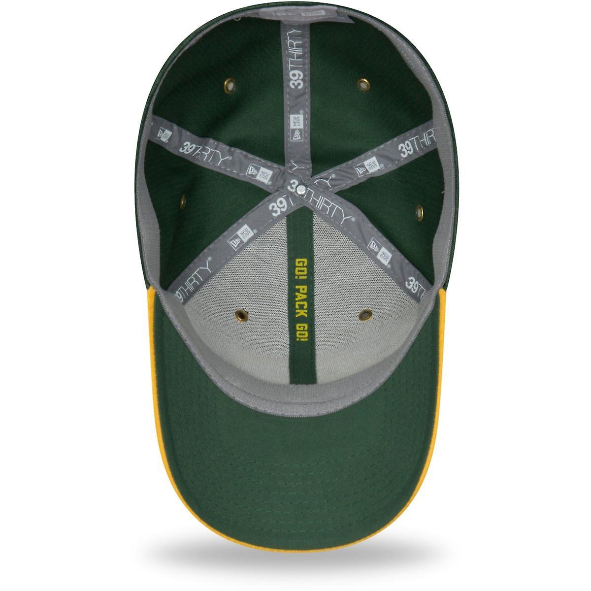 Sideline Away Green Bay Packers New Era 39Thirty Cap