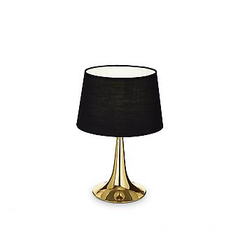 Ideal Lux London Table Lamp Small Ottone