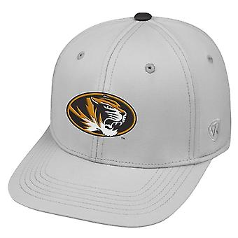 Missouri Tigers NCAA TOW Impact Gray Stretch Fitted Hat