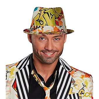 Grafitti Fedora Hat accessories Halloween Carnival