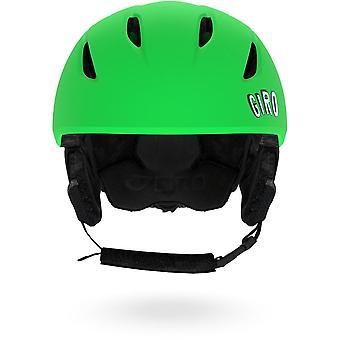 Giro jeugd starten helm/Google - oranje