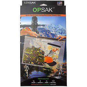 "Loksak Opsak Resealable Odor Proof Storage Bags (2 Pack) - 28"" x 20"""