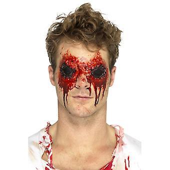 Yeux de zombie laTeX prothétique