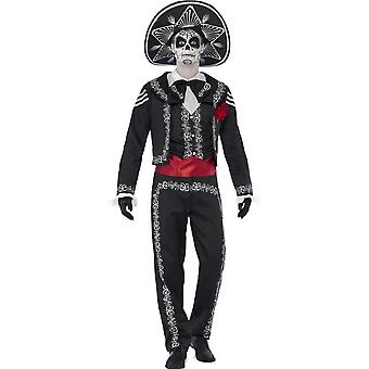 Day of the Dead Se±or Bones Costume, Small