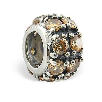 Tour - en argent Sterling 925 empierré Beads - W5816X