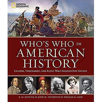Who is Who in der amerikanischen Geschichte
