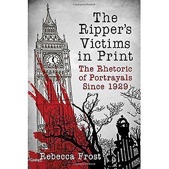 De Schulpzaag van slachtoffers in Print: de retoriek van uitbeeldingen sinds 1929