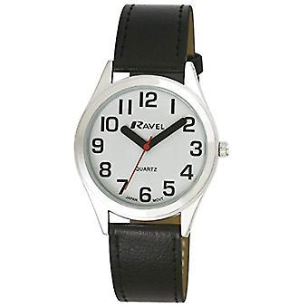 Ravel R 0125.01.1 unisex wristwatch analog Quartz Black