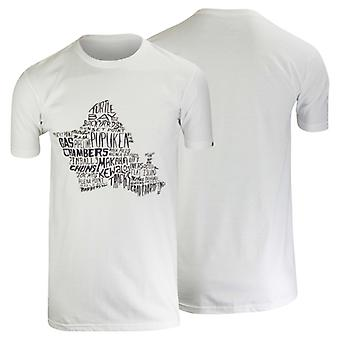Quiksilver Mens Secret Spots T-Shirt - White/Black