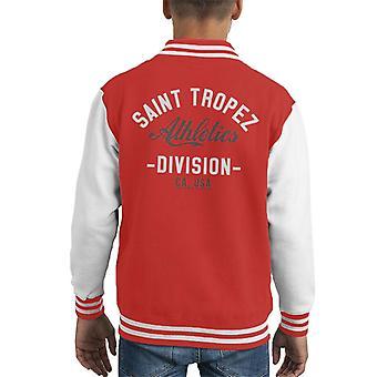 Saint Tropez Atletiek afdeling Kid's Varsity Jacket