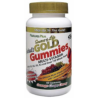 Natures Plus Source of Life Gold Adult Gummies 60