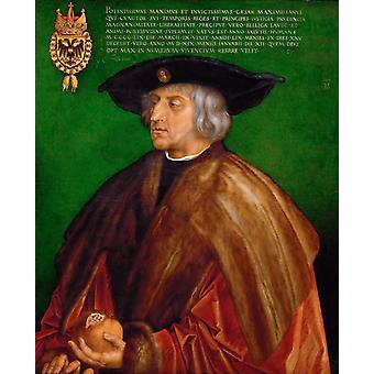 Emperor Maximilian, Albrecht Durer, 74x 61.5 cm