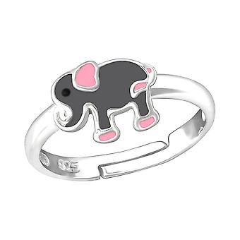 Children's Sterling Silver Elephant Ring