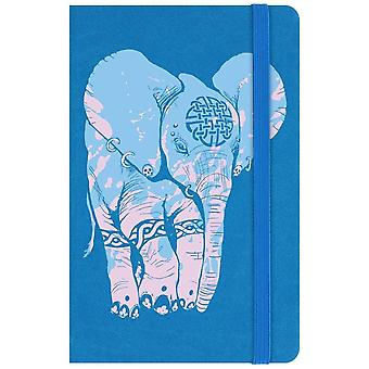 Unorthodox Collective Elephant A6 Hard Cover Notebook