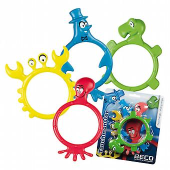 Beco Monster Dive Rings 4 pack