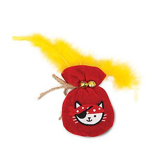 Catit Play Pirates Catnip Toy Pouch Of Gold