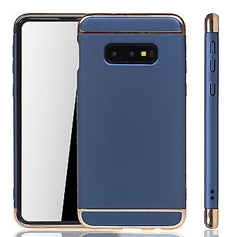 Samsung Galaxy S10e funda de protección del caso del teléfono de la cubierta dura azul