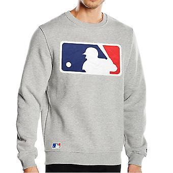 New era jumpers - MLB Baseball LOGO grey