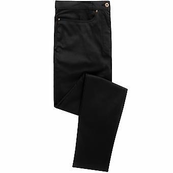 Premier heren prestaties Chino stijl polyester werk jeans