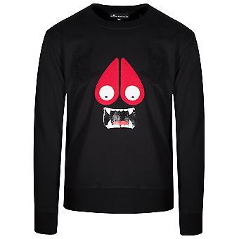 Moose Knuckles Black Moose Munster Crew Sweatshirt