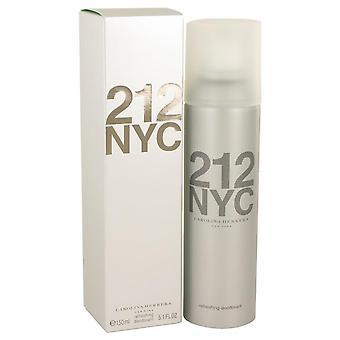 212 deodorant spray by carolina herrera   540013 151 ml