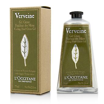 L ' Occitane Verveine Kühlung Hand Cream Gel 75ml / 2.6 oz