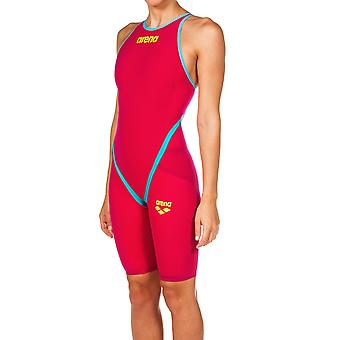 Arena W Carbon Flex Vx Kneesuit Red Turquoise