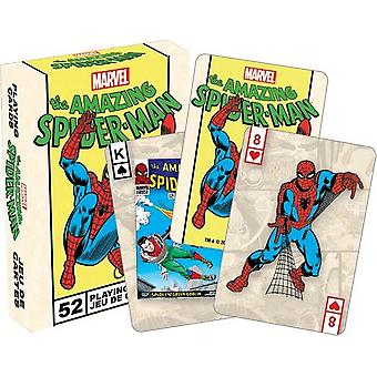 Playing Card - Marvel - Spiderman Poker Licensed Gifts Toys 52247