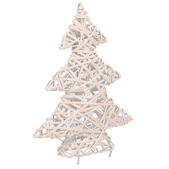 White Wash Christmas Tree