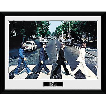 Beatles Abbey Road inramad bild