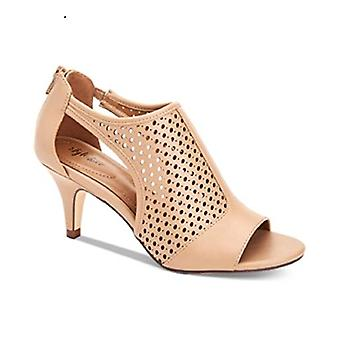 Style & Co. Helaine Perforated Sandal SANDLEWOOD Size 6.5M