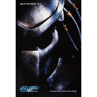 Alien vs Predator (Predator-kaksipuolinen Advance) (2004) alkuperäinen elokuva juliste