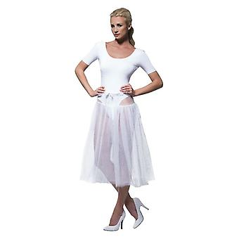 Womens jaren 1950 Petticoat Fancy Dress accessoire