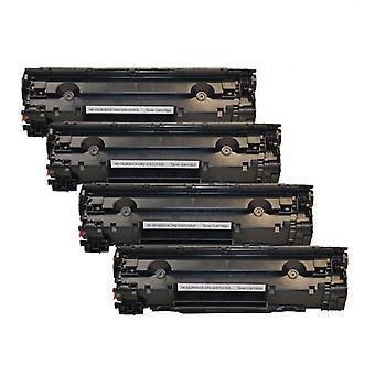 CE285A 85A Cart325 ブラックジェネリックトナー x 4