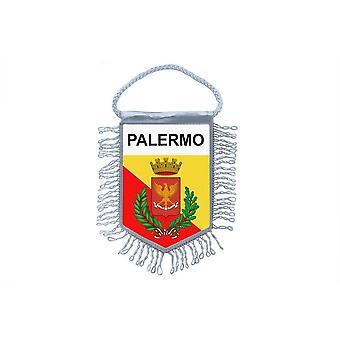 Flag Mini Flag Country Car Remembrance Blason Palermo Italy
