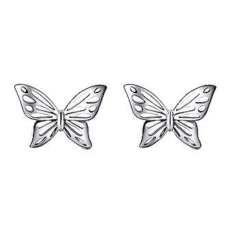 925 Silber Schmetterlingsohrringe Frau