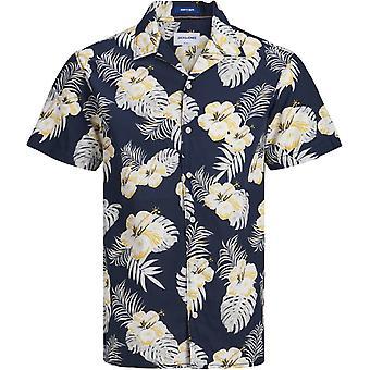 Chemise à manches courtes Jack et Jones Cole Sky Captain Navy 85