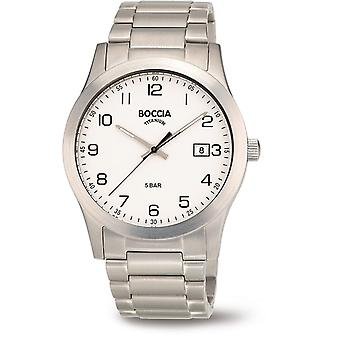Boccia Titanium 3619-01 Miesten Watch